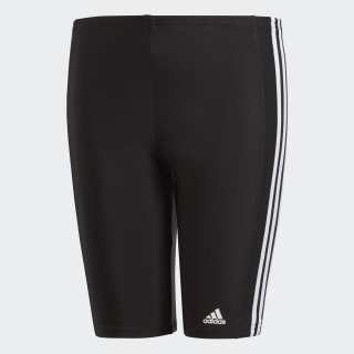 adidas 3 stripes svømmetights Black/White BP9505