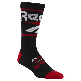 Classics Vector Graphic Crew Sock Black DN6025