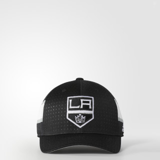 Kings Structured Flex Draft Cap Black BZ8727