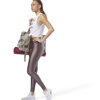 Legging taille haute Metallic Almost Grey CY4984