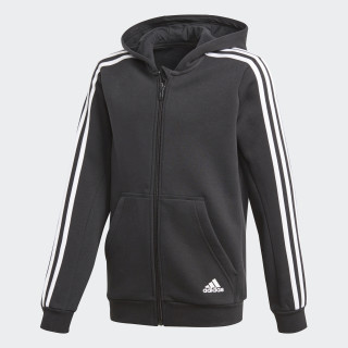Essentials 3-Stripes Hoodie Black/White CF6582