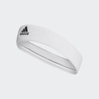 Tennis Hoofdband White/Black CF6925