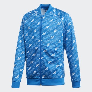 Trefoil Monogram SST Trainingsjack Bluebird / White DI0262