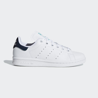 Stan Smith Shoes Ftwr White / Ftwr White / Hi-Res Aqua B37185