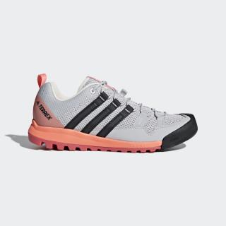 TERREX Solo Shoes Grey Two/Carbon/Chalk Coral CM7656