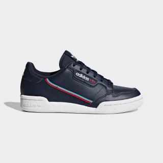 Continental 80 Shoes Collegiate Navy / Scarlet / Hi-Res Aqua F99785