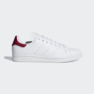 Stan Smith Schuh Ftwr White / Ftwr White / Collegiate Burgundy B37911