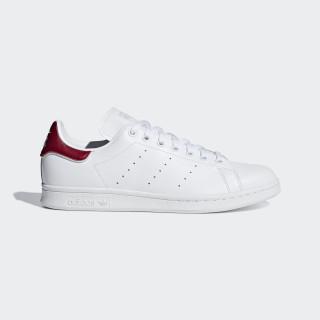 Stan Smith Shoes Ftwr White / Ftwr White / Collegiate Burgundy B37911