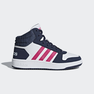 Hoops 2.0 Mid Shoes Cloud White / Real Magenta / Trace Blue B75746