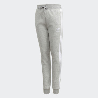 Fleece Broek Medium Grey Heather / White DH2703
