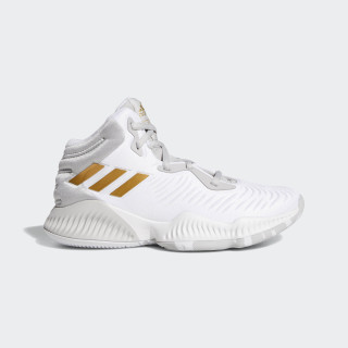 Mad Bounce 2018 Shoes Grey Two / Gold Met. / Ftwr White BB7543