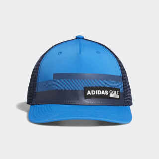 Stripe Trucker Hat Bright Blue CY9733