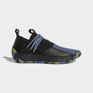 Harden LS 2 MVP Shoes Core Black / Gold Met. / Raw Steel F36840
