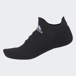 Alphaskin Lightweight Cushioning No-Show CLIMACOOL Socks Black/White CV7692