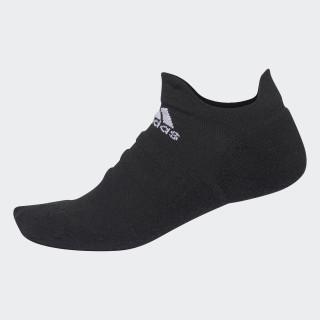 Alphaskin Lightweight Cushioning No-Show Socks Black/White CV7692