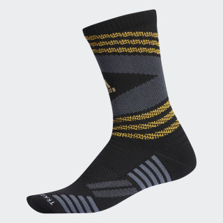 Emoji Speed Mesh Team Crew Socks Black CK2309