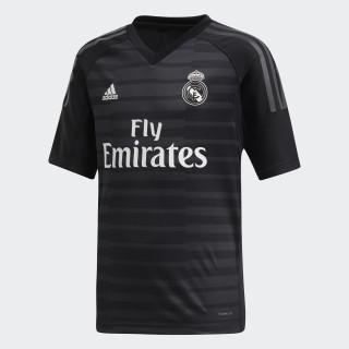 Jersey de Arquero Real Madrid Local Niño 2018 BLACK/CARBON CG0566