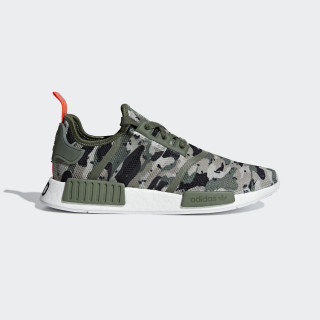 NMD_R1 Shoes sesame / sesame / solar red G27914
