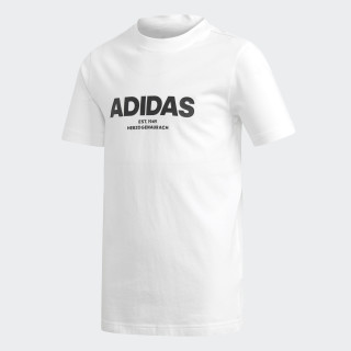 All Caps T-shirt White / Black DJ1761