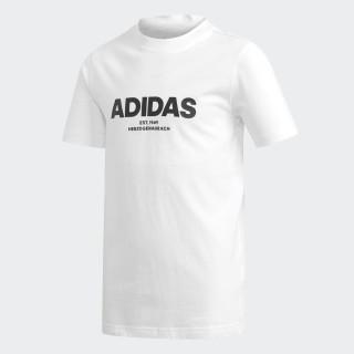 All Caps Tee White / Black DJ1761