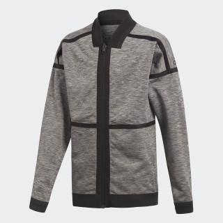 Veste adidas Z.N.E. Reversible Anthem Brown/Storm Heather/Medium Grey Heather CF6471
