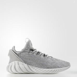 Tubular Doom Sock Primeknit Shoes Grey / Cloud White / Grey CQ0684