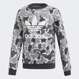 Camo Trefoil Sweatshirt Multicolor / Carbon DH2709