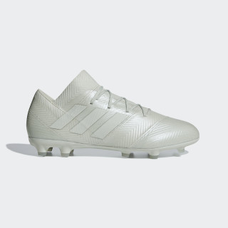 Nemeziz 18.2 Firm Ground Fotbollsskor Ash Silver / Ash Silver / White Tint DB2093
