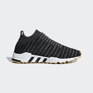 EQT Support Sock Primeknit Schuh Core Black / Carbon / Gum 3 B37536