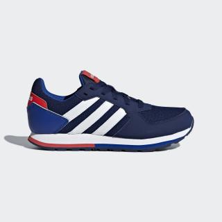 8K Schuh Dark Blue / Ftwr White / Hi-Res Red B75733