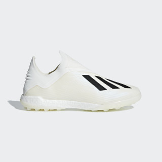 Zapatilla de fútbol X Tango 18+ moqueta Off White / Core Black / Off White DB2270