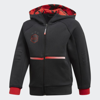 Chaqueta con capucha Star Wars Black / Vivid Red DI0202