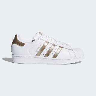 Sapatos Superstar Ftwr White/Cyber Metallic/Ftwr White CG5463