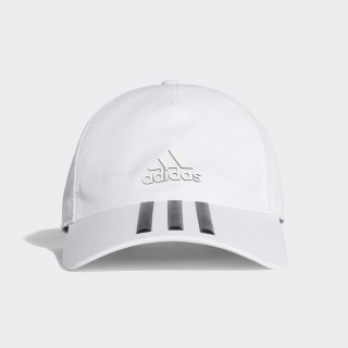 C40 3-Stripes Climalite Cap WHITE/BLACK/BLACK CG1782