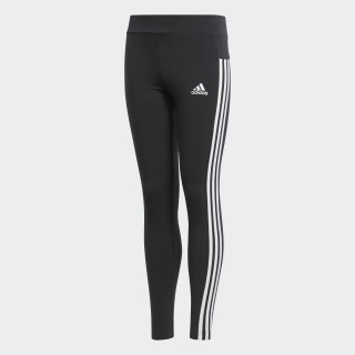 Essentials 3-Stripes Tights Black/White/White BP8628