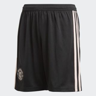 Pantalón corto segunda equipación Manchester United Black / Icey Pink CG0064