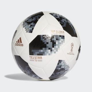 Balón Top Glider Copa Mundial de la FIFA 2018 WHITE/BLACK/SILVER MET. CE8096