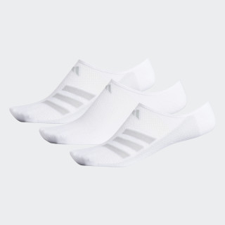 Climacool Superlite Stripe No-Show Socks 3 Pairs White CJ0634