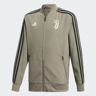 Juventus Turin Präsentationsjacke Clay / Black CW8735