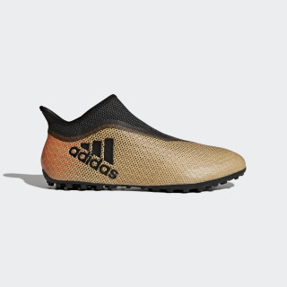 X Tango 17+ Purespeed Turf Boots Tactile Gold Met. / Core Black / Solar Red CP9134