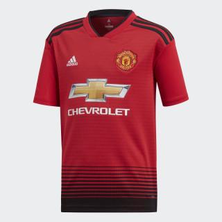 Camiseta Titular Manchester United Réplica REAL RED/BLACK CG0048