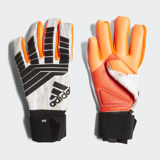 Predator Pro Manuel Neuer Gloves White / Black / Solar Red CW5626