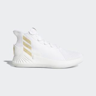 D Rose 9 Shoes Ftwr White / Light Granite / Gold Met. AC7439