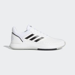 Courtsmash Shoes Ftwr White / Core Black / Grey Two F36718