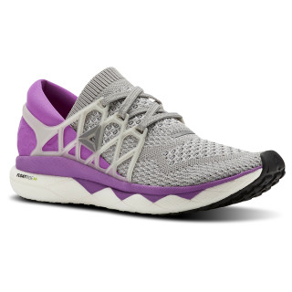 REEBOK FLOATRIDE RUN ULTK Light Grey Heather / Medium Grey Heather / Vicious Violet BS8185