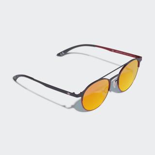 AOM003 Sonnenbrille Black / Scarlet / Scarlet CK4839