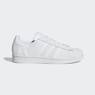 Zapatilla Superstar Ftwr White / Ftwr White / Crystal White B37986