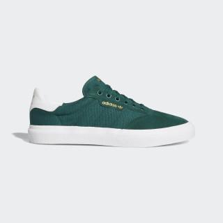 3MC Vulc Shoes Collegiate Green / Cloud White / Collegiate Green B22699