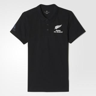 All Blacks Maori Polo Shirt Black AZ3950