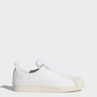 Superstar BW Slip-on Shoes Footwear White/Footwear White/Off White BY9139
